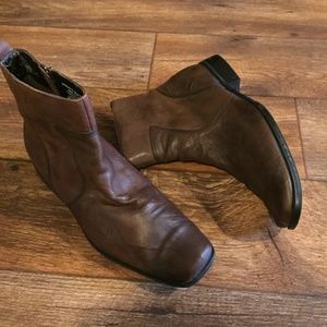 Rockport High Trend Toloni Boot 10 Scrunch Brown